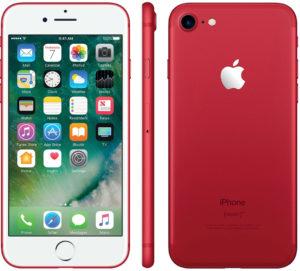 красный айфон