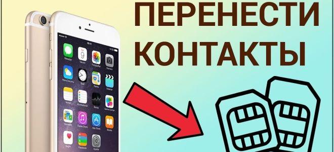 Как скопировать контакты пользователя с айфона на сим карту, подробная инструкция