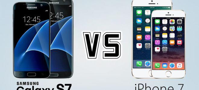 Обзор-сравнение Айфон 7 и Самсунг Гэлэкси С7. Что выбрать?