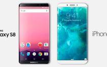 Iphone 8 vs samsung S8, сравниваем флагманы конкурентов.