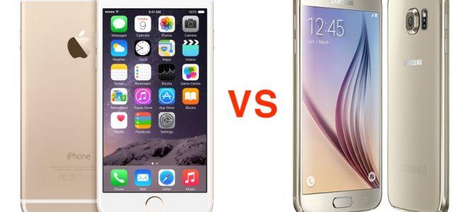 Какой смартфон выбрать, iPhone 6s или Samsung Galaxy S6?