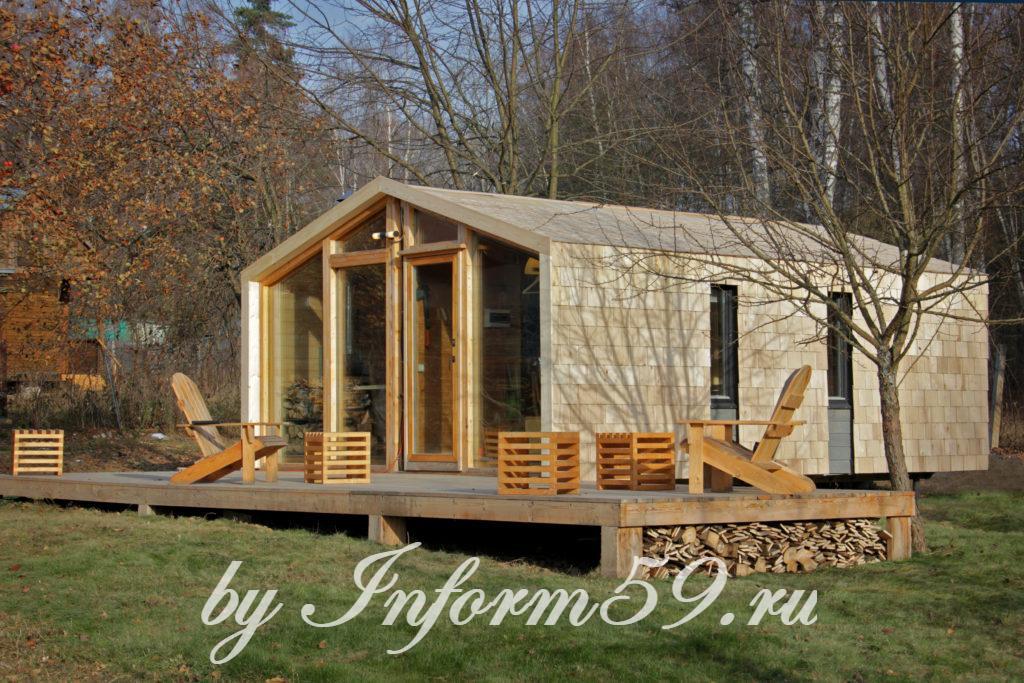 Шикарный модульный дом