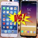 Сравниваем Айфон 7 и Самсунг 8 — выясним кто лучший