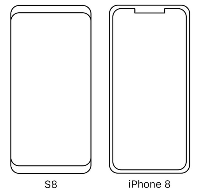 Iphone 8 vs samsung S8