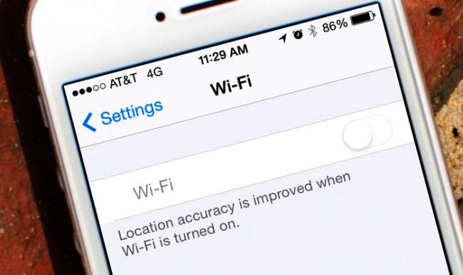 Экономим на трафике, отключаем интернет на айфоне