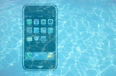 телефон под воду