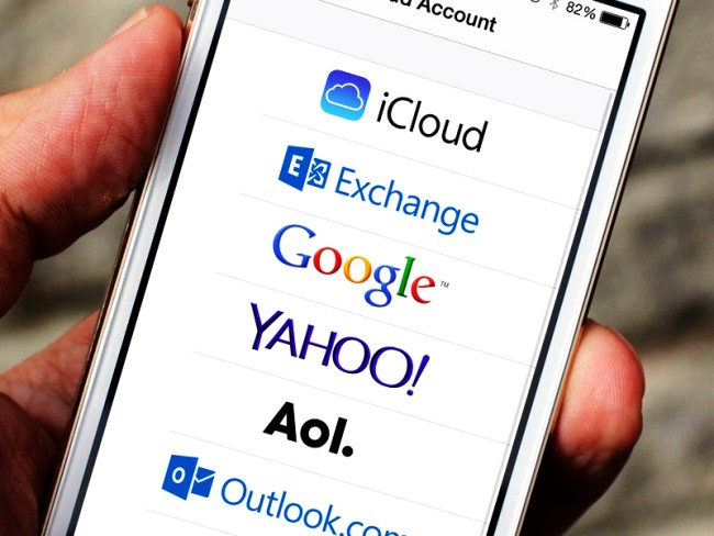 почта iCloud на Айфоне