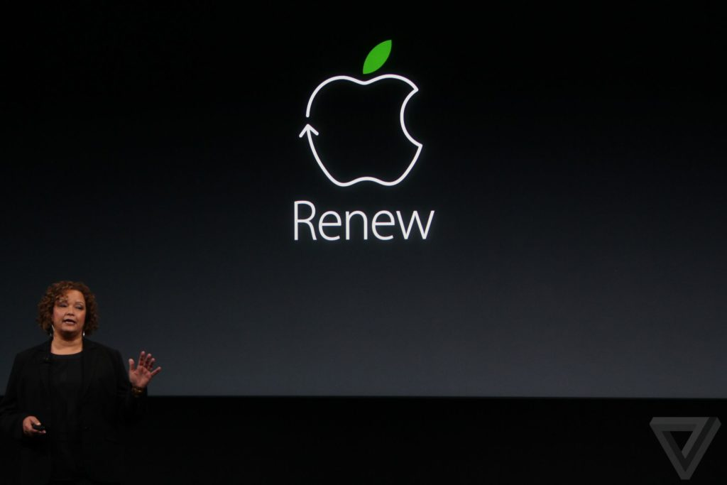 "Презентация ""Apple Renew"""