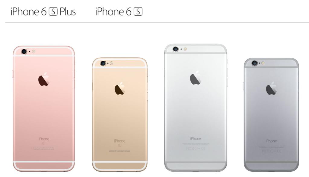 айфоны 6 и 6с