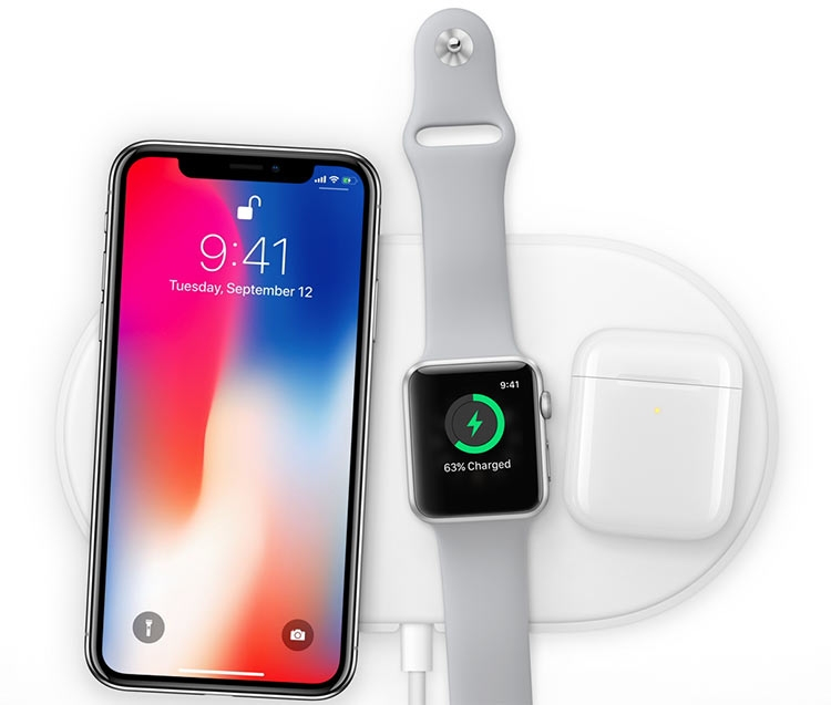 гаджеты apple с беспроводной зарядкой