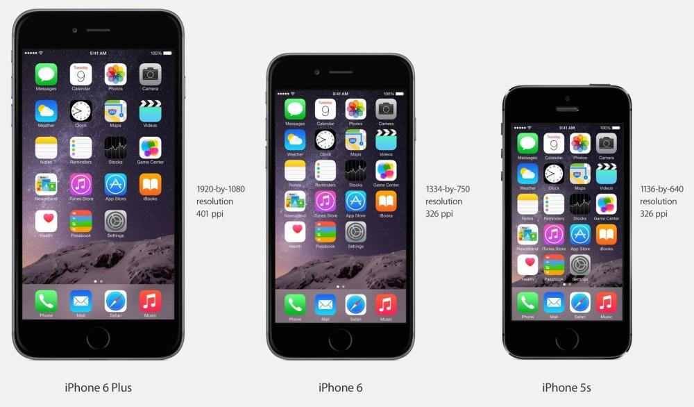Айфоны с 5 по 6 поколение