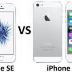 Чем отличаются iPhone 5S и SE, что лучше выбрать?