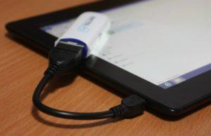 флешка с переходником для планшета
