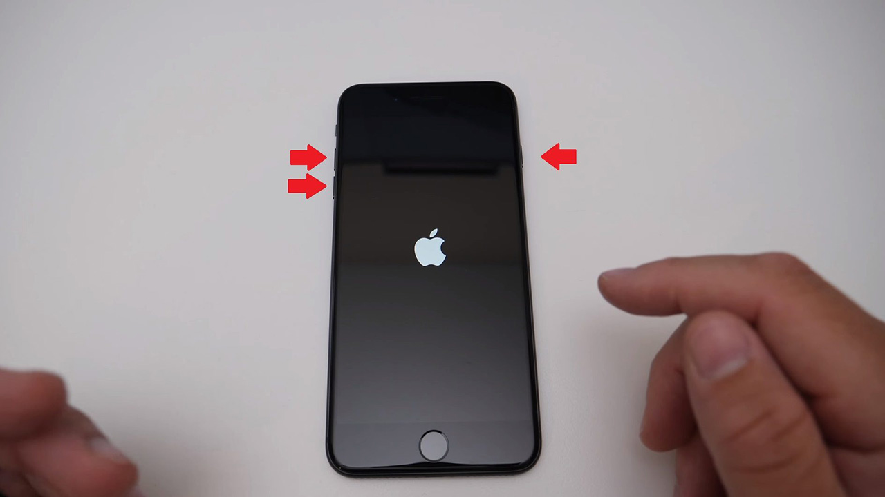 Айфон кнопки перезагрузки